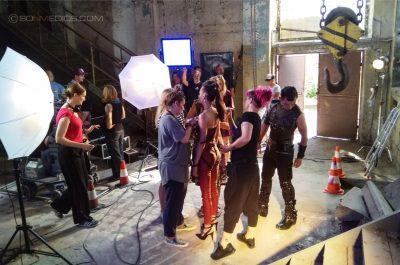 Jak zostać gwiazdą SONMEDIOS Plan Filmowy Ostra - Stara Papiernia w Konstancinie 05